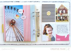 this beach scrapbook is pretty awesome... might have to make something like this..CatherineHandbook8