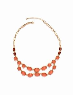 Smooth Stone Necklace from THELIMITED.com