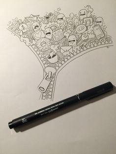 #doodle #art