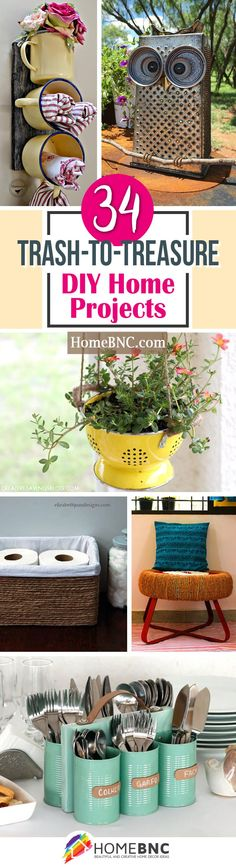 Upcycled DIY Ideas from Trash