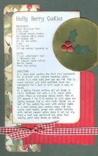 Paper Cottage: Recipe & Page Kit of the Week - 12/7/09