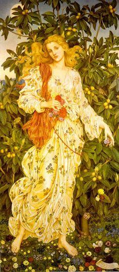 Mythology | Flora – Na mitologia romana, é uma ninfa das Ilhas Afortunadas ...