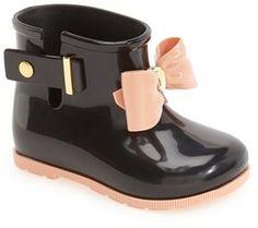 Toddler Girl's Mini Melissa 'Mini Sugar' Rain Boot