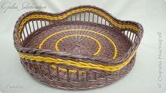 Поделка изделие Плетение Разные работы Трубочки бумажные фото 14