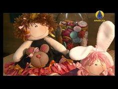 ▶ Tudo Artesanal | Boneca Coralina por Andréa Malheiros - 17 de Setembro de 2013 - YouTube