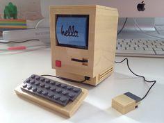 Macintosh Classic in Lego by Jason Santa Maria, via Flickr