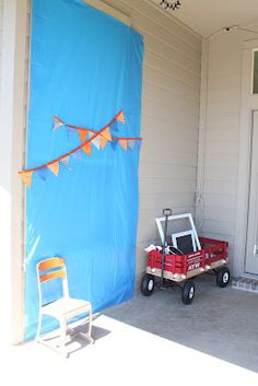 photo booth idea for birthday party