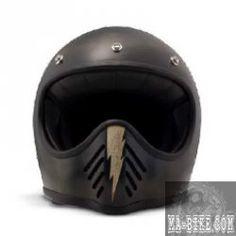 DMD 2017 Seventy Five Little Skull Carbon Retro Helm...