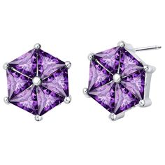 Find More Stud Earrings Information about Fashion Jewelry 925 Sterling Silver Stud Wedding New Arrival Purple Geometric Cubic Zirconia Earrings for Women 2015 Ulove R863,High Quality earrings board,China earrings fairy Suppliers, Cheap earring black from ULOVE No.2 Fashion Jewelry Store  on Aliexpress.com