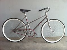 Takara mixte via Pedals & Ginger