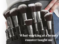 What working at a beauty counter taught me - https://clarenablog.wordpress.com/2016/05/27/what-working-at-a-beauty-counter-taught-me/
