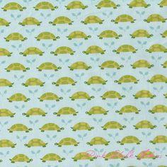 Patty Sloniger Les Amis Turtle Parade Tonal Aqua
