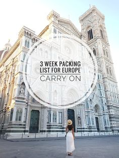 Hello and welcome back! Today I'm sharing my 3 week carry-on packing list for Europe! If you haven't already tried travelling with just a carry-on it's a total game changer, especially in Europe. Summer Packing Lists, Packing List For Vacation, Carry On Packing, Packing For Europe, Backpacking Europe, Packing Tips, Summer In Europe, Paris Packing, Travel Backpack Carry On