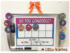 Do You GoNoodle?? Freebies for You!! Grab this little GoNoodle Ten Frame Freebie to use with your class!!