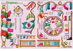 Gallery.ru / Foto # 134-1 - OlgaHS Cross Stitch, Kids Rugs, Holiday Decor, Home Decor, Lighthouses, Ocean, Gallery, Pictures, Blue Prints