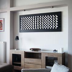 Buy an amazing wall art acoustic sound panel. Original, handmade, eco-friendly sound diffuser art panel made in Greece. Panel Wall Art, Hanging Wall Art, Wall Art Decor, Acoustic Diffuser, Acoustic Wall Panels, 3d Panels, Mdf Wood, Made Of Wood, Wood Blocks