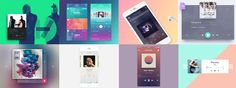 """via Muzli. """"Music Player Inspiration"""" is published by Muzli in Muzli - Design Inspiration. Wave Design, User Experience, Packaging Design Inspiration, Interactive Design, Layout, Graphic Design, Music, Blog, Musica"""
