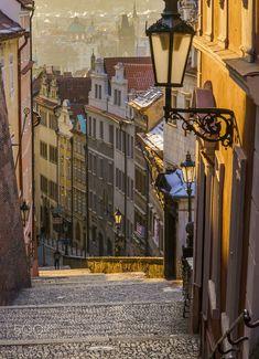 Morning light - Prague