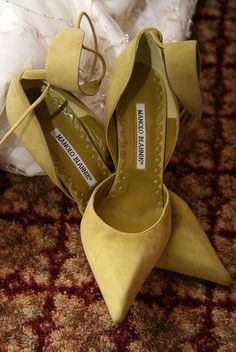 Manolo Blahnik omg i know some people might find these just awful but for some reason i think they're too amazing