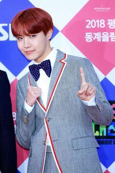 171225 방탄소년단 • 제이홉 • SBS Gayo Daejun Red Carpet