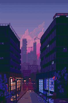 City Wallpaper, Anime Wallpaper Live, Anime Scenery Wallpaper, Aesthetic Pastel Wallpaper, Aesthetic Backgrounds, Aesthetic Wallpapers, Retro Wallpaper, Aesthetic Japan, Night Aesthetic