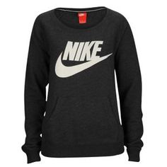Nike Rally Crew - Women's - Black/Sail