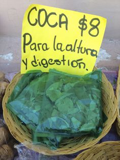"""""""Las hojas de coca no son droga"""" A no confundirse! // """"Coca leaves are not drugs"""" Watch it! This world is really awesome. The woman who make our chocolate think you're awesome, too. Please consider ordering some Peruvian Chocolate today! Fast shipping! http://www.amazon.com/gp/product/B00725K254"""
