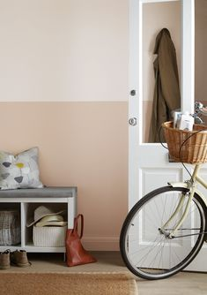 Hallway Decorating 759278818416897767 - Hallway paint colours: 28 inspiring decorating ideas for enhancing your hallway – Find inspiration for hallway paint colours that are fresh, inviting and create a great first impres – Source by Hallway Colour Schemes, Hallway Paint Colors, Paint Color Schemes, Pink Hallway, Hallway Walls, Upstairs Hallway, Narrow Hallway Decorating, Hallway Ideas Entrance Narrow, Modern Hallway