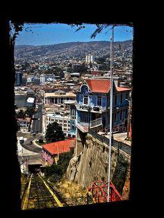 Ascensor Artillería. Valparaíso - Chile