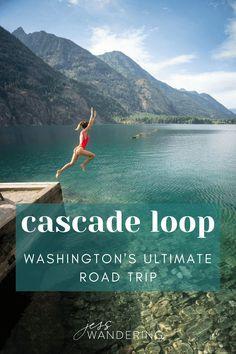 Cascade National Park, North Cascades National Park, Cascade Mountains, Alpine Lake, State Parks, Wa State, Travel Usa, Kayaking, Travel Inspiration