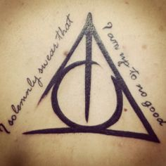 i solemnly swear that i am up to no good tattoo - Google Search