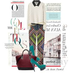 How To: Style Ideas for Fall 2012 by pocaqooka on Polyvore featuring Mode, Alexander Wang, Matthew Williamson, Charlotte…