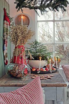 Julens dekorasjoner !