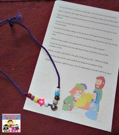 Christmas Story bracelet and poem