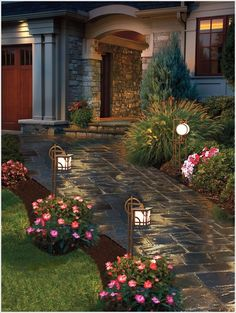 Create Magic with Landscape Lighting