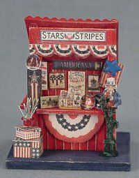 """Stars and Stripes"" Market Stall"