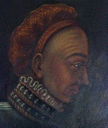 Bogislaw X of Pomerania, the Great, lived 1454 – 1523, Duke of Pomerania from 1474 until his death in 1523. Married Anna Jagiellon (Anna pf Poland) daughter of Casimir IV Jagiellon, King of Poland. Son of Eric II, Duke of Pomerania-Wolgast and Sophia of Pomerania-Stolp. 6Xgreat-grandfather of Catherine the Great.