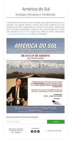 América do SulEnologia, viticultura e Tendências