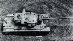 T29E3 - improved version of T29 Heavy Tank, equipped in stereoscopic range finder in turret.