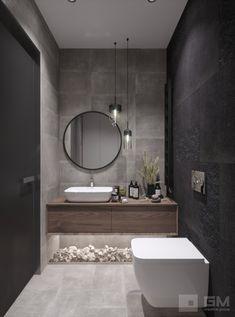 Modern Luxury Bathroom, Bathroom Design Luxury, Modern Bathroom Design, Wc Design, Toilet Design, Washbasin Design, Washroom Design, Interior Design Minimalist, Bathroom Design Inspiration