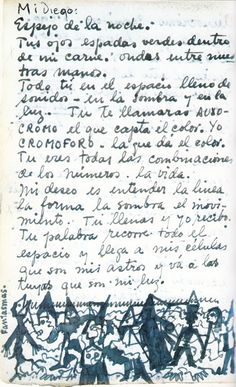 Frida Kahlos passionate handwritten love letters to Diego Rivera | Brain Pickings