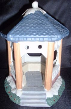 ST NICHOLAS SQUARE GAZEBO CHRISTMAS VILLAGE HOLIDAY ACCENT BUILDING ACCESSORY