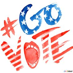 #GOVOTE by Karen Kurycki, via Behance