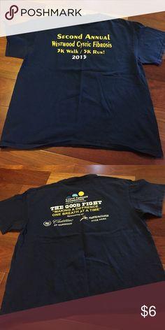 Men's large 5k tshirt Good condition Shirts Tees - Short Sleeve