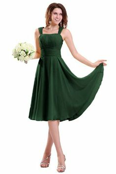 Sunvary New Arrival Spaghetti Strap Tea Length Chiffon Cocktail Party Dresses Bridesmadi Dresses with Pleats- US Size 14- Green Sunvary,http://www.amazon.com/dp/B00BQ74O62/ref=cm_sw_r_pi_dp_IgVtsb11KWH3VSXX