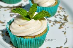 Allergy Friendly Allergen Free Mint Green Tea Cake Cupcake Baked Goods Vegan Gluten Free