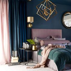 25 Elegant Bedroom Makeover Ideas With Small Budget - Trendy Bedroom, Modern Bedroom, New Room, Bedroom Furniture, Bedroom Bed, Dark Furniture, Furniture Design, Bedroom Girls, Retro Furniture