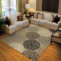 Walmart: Orian Harbridge Woven Olefin Fleece Area Rug, x from Walmart. Saved to For the Home. Living Room Area Rugs, Living Room Decor, Living Spaces, Dining Room, Washable Area Rugs, Cheap Carpet Runners, Up House, Interior Rugs, Polypropylene Rugs
