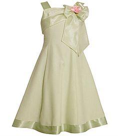 Bonnie Jean 716 and Plus Size Upsweep Linen Dress #Dillards
