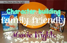 Le Chaim (on the right): Character-Building Family-Friendly Movie Nights